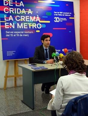 Ángel García de la Bandera en rueda de prensa.