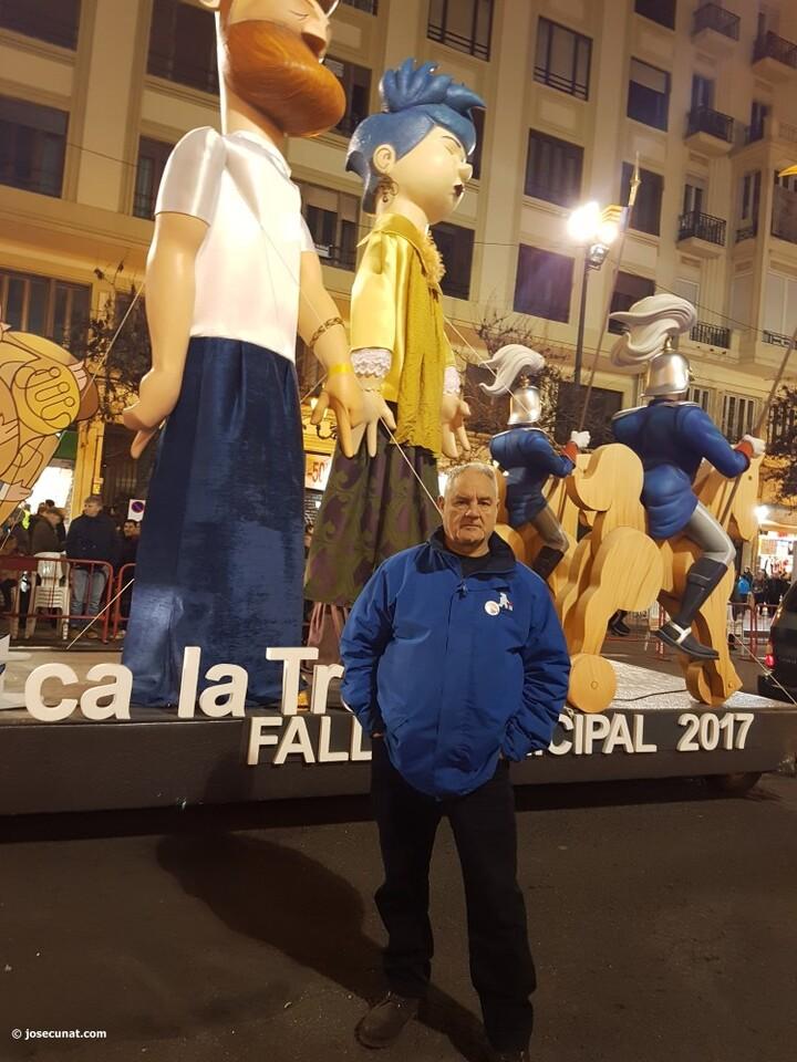 """""""València, Ca la Trava"""", Manolo garcia artista fallera Ayuntamiento se levantará 'al tombe' cabalgata del ninot 2017 fallas valencia (20)"""