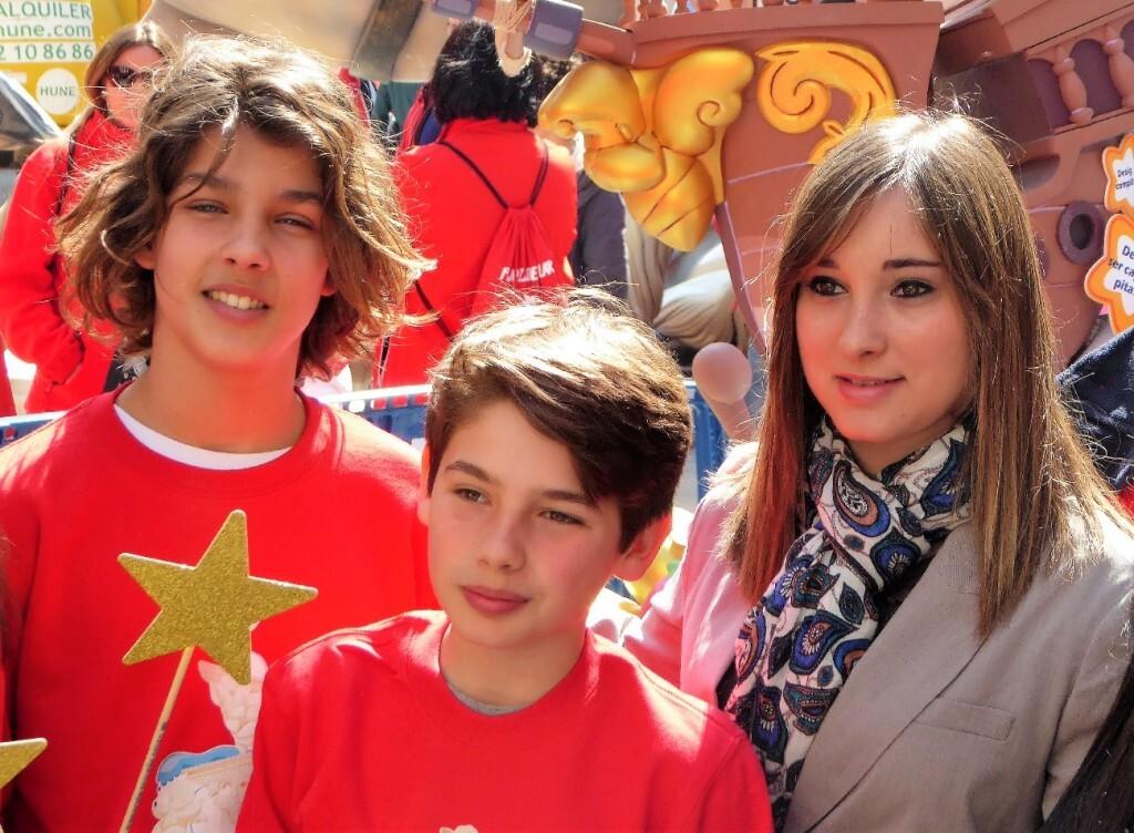 Toni Gómez (Actor Infantil, Zape), José Enrique (Ex Aspirante de MCJ4) y Serezade Enguídanos (Presentadora Queremos Tener Voz y Vocal del CJCV)