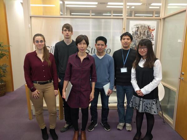 El equipo de Game Data Science lo forman investigadores de varios países: Anna Guitart Atienza (España), Paul Bertens (Holanda), África Periáñez (España), Sovannrith Lay (Camboya), Guan Jun (China) y Peipei Chen (Taiwan). / Silicon Studio