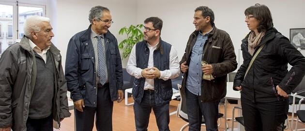 Altur reunido con FASP. (Foto-Abulaila).