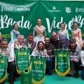 Campaña de colaboración activa para reciclar vidrio durante las Fallas.