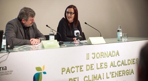 Clausura II Jornadas Pacto alcaldías clima y energía. (Foto-Abulaila).