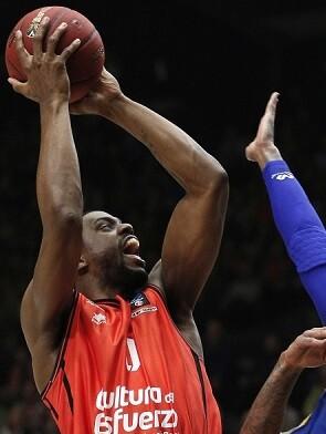 Contundente victoria del Valencia Basket.