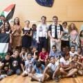 Diputación y la FASPS impulsan el proyecto de acogida de niños saharauis 'Vacances en Pau'. (Foto-Abulaila).