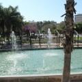 El Ayuntamiento pone en funcionamiento las fuentes y canales del parque del Oeste tras su reparación.