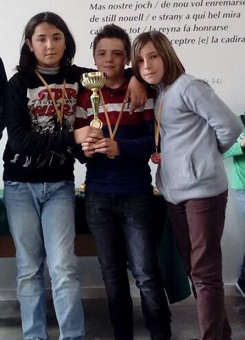 El C.P. Eliseo Vidal fue el colegio campeón Sub-12.