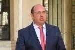 El PSOE presenta una moción de censura contra , presidente de Murcia.