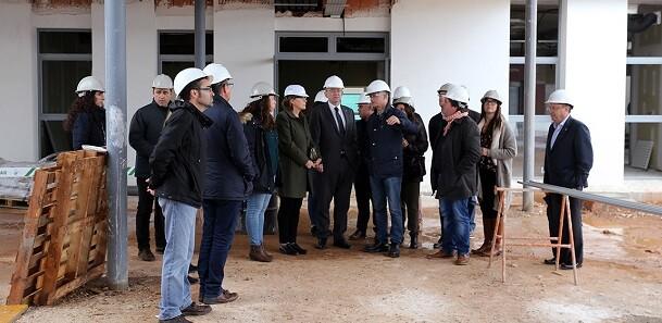 El President afirma que la apertura del CEIP Cardenal Tarancón sin aulas prefabricadas el próximo curso 2017-18 dignificará la calidad educativa del municipio.