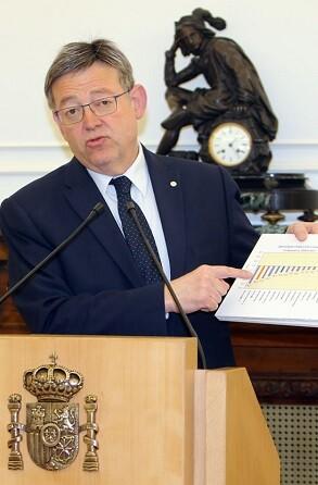 El President recuerda que la Generalitat tiene el menor número de empleados públicos por habitante de todas las comunidades.