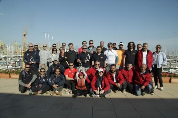 El Trofeo Presidente de clase crucero del RCN Valencia corona a sus vencedores