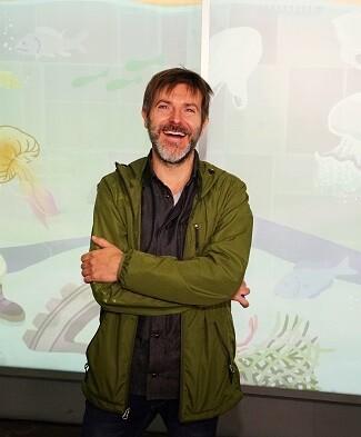 El artista valenciano ha diseñado un panel exclusivo para el Oceanogràfic.