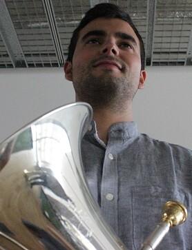 El bombardino Juan Javier Serrano.