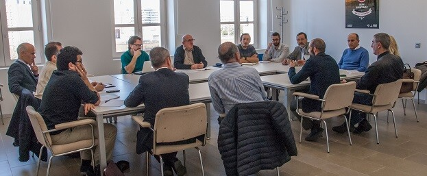 El concejal de Movilidad Sostenible, Giuseppe Grezzi, ha mantenido una reunión con todas las empresas de aparcamientos subterráneos.