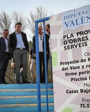 El presidente, Jorge Rodríguez, destaca en su visita al Rincón de Ademuz los datos de liquidación presupuestaria.