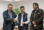 Emili Altur se reúne con el ministro de Cooperación del Sáhara Occidental para renovar la colaboración asistencial en los campamentos de refugiados. (Foto-Abulaila).