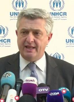 Filippo Grandi, Alto Comisionado de la ONU para los Refugiados. (Foto-ACNUR)
