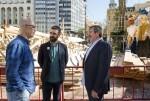 Generalitat, Diputación y Ayuntamiento trabajan conjuntamente en el proyecto marco 'Por unas Fallas Sostenibles'. (Foto-Abulaila).