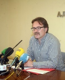 Giuseppe Grezzi, durante la rueda de prensa.