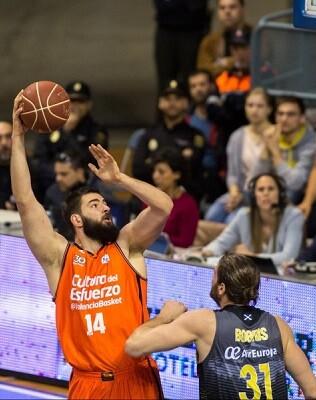 Gran triunfo del Valencia Basket.