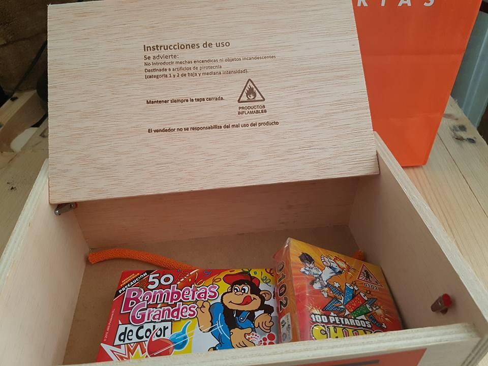 Grupo 90 inmobiliarias lanza su caja de petardos para estas fallas para un buen uso y precaución de la pirotecnia (2)