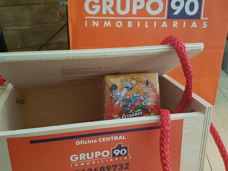 Grupo 90 inmobiliarias lanza su caja de petardos para estas fallas para un buen uso y precaución de la pirotecnia (3)