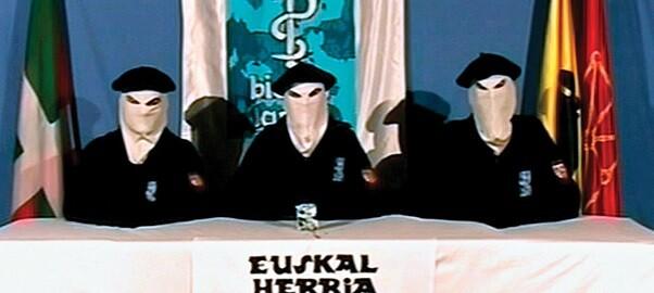 Imagen de un vídeo d ela organización criminal ETA. 8