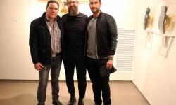 Jarr con Miguel y David Castillo de Galería Cuatro