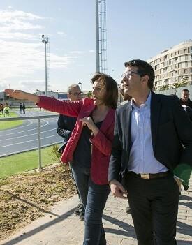Jorge Rodríguez visita Quart de Poblet. (Foto-Abulaila).