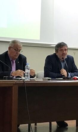 Josep Bort durante la 'Jornada Pacte de les Alcaldies'.