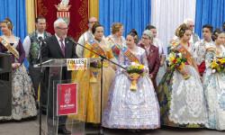 La Crida 2017 reune a todas las Falleras Mayores de Alboraya (4)