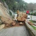 La Diputación reabre las vías afectadas por el temporal y comienza a reparar los daños registrados en las carreteras.