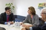 La Diputación y COVACO estudian armonizar actuaciones conjuntas en materia comercial. (Foto-Abulaila).