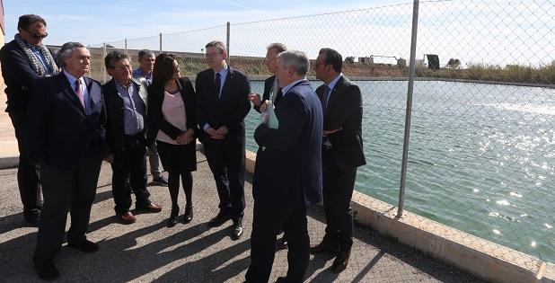 La Generalitat ha invertido siete millones de euros para consolidar el riego localizado en la comunidad de regantes de Massalet de Carlet.