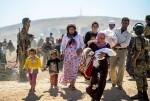 La ONU informa que hay cerca de 66.000 desplazados por combates en el norte de Siria.