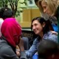 Llegan a España 24 refugiados de nacionalidad siria procedentes de Turquía que serán acogidos en Castellón y Sevilla.