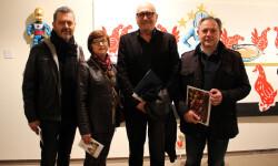 Lluís Nadal, Vicen Castell, Josep Lozano y Vicent García Mont