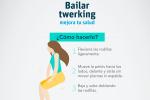 Los 7 beneficios de bailar twerking para tu salud.