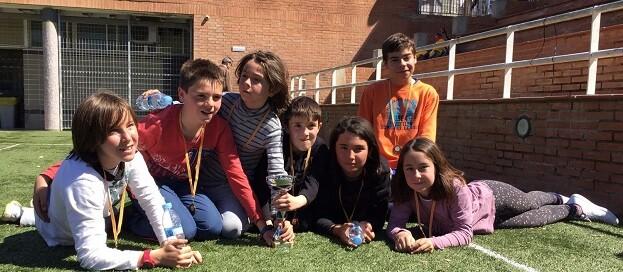 Los alumnos del C.P. Eliseo Vidal Subcampeones del torneo.