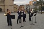 Más de 553.000 personas han disfrutado ya del flashmob de la Orquesta de València-30 aniversario del Palau de la Música.