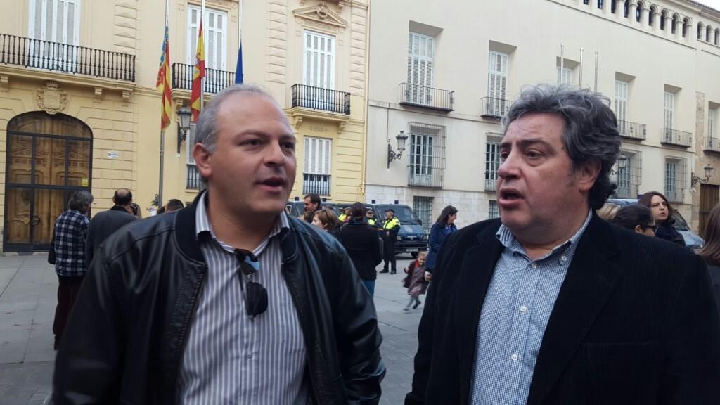Manifestación por el decreto plurilingüe de Marzà y rechazo a la política lingüística llevaba a cabo el tripartito en Valencia (13)