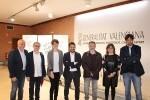 Marga Landete, Roberto Garcia i José Luis Moreno directors adjunts de l'Institut Valencià de Cultura.