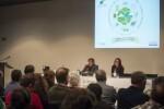 """Maria Josep Amigó """"En el marco del Pacto de las Alcaldías se ha triplicado el presupuesto para luchar contra el cambio climático"""". (Foto-Abulaila)."""