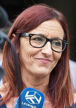 Maria Josep Amigó, vicepresidenta de la Diputación de Valencia. (Foto-Abulaila).