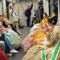 Metrovalencia ha transportado a más de 1.800.000 viajeros del 15 al 19 de marzo, un 4,7 por ciento más que en 2016.