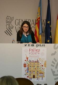 Monica Oltra, vicepresidenta y portavoz del Consell.