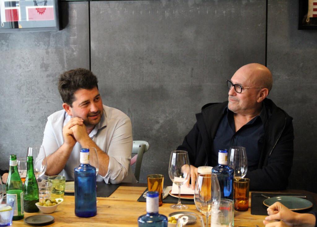 Natxo Costa y Josep Lozano