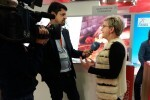 """Pilar Moncho reivindica el """"living"""" y el territorio valencianos en la MITT Moscú para atraer la llegada de turistas rusos."""
