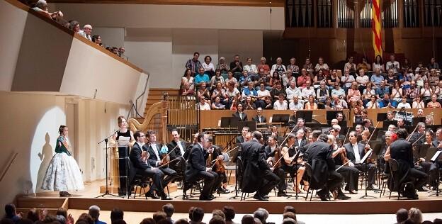 Por primera vez, se estrenarán las obras antes de empezar la fiesta de Fallas. (Foto-Palau Música. Banda Municipal).