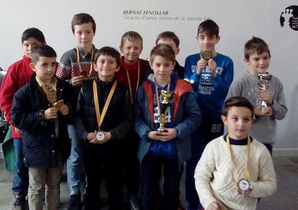Premiados Sub-10.